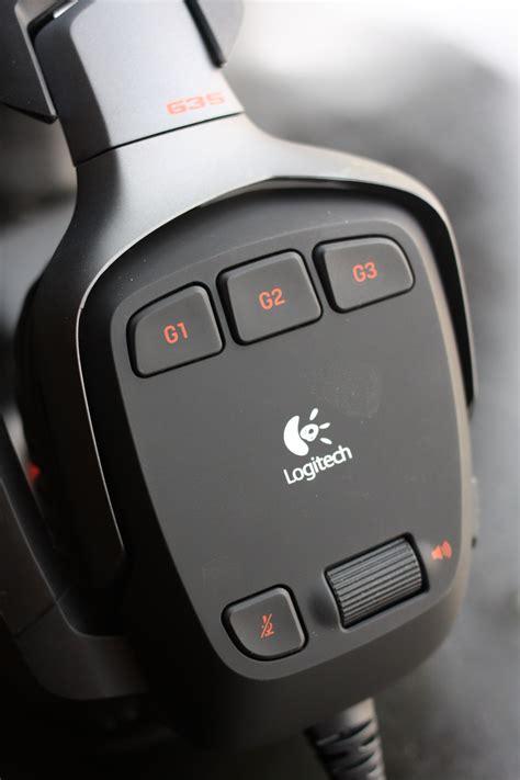 Headset Logitech G35 review logitech g35 7 1 surround sound headphones
