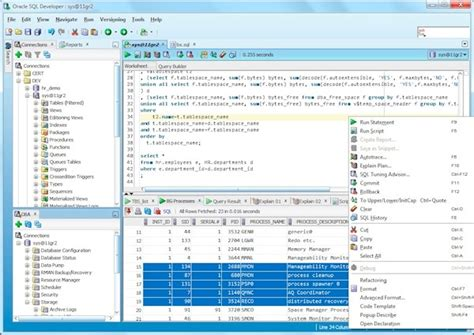 Oracle Sql Developer exploring oracle sql developer