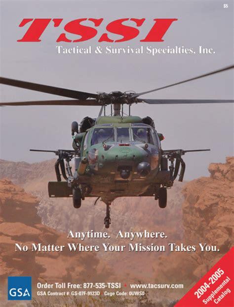 tactical catalog request tssi tactical survival specialties inc catalog