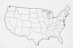 how to draw a map of the united states 5 steps ehow