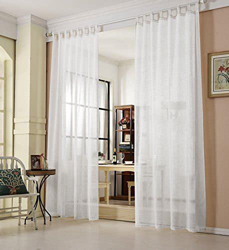 weiße gardinen mit schlaufen transparente gardinen vorh 228 nge und andere gardinen