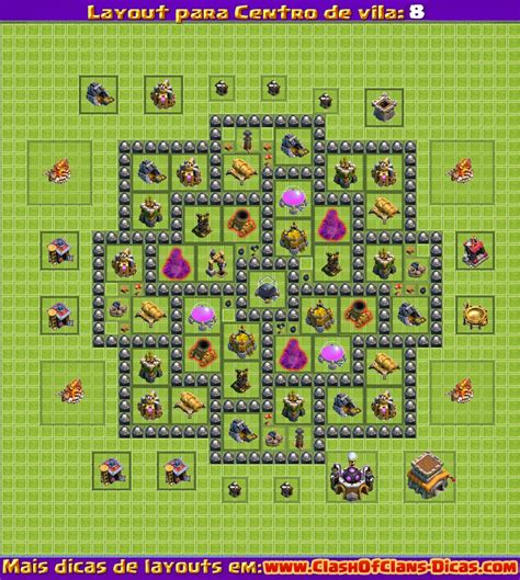 layout cv nivel 4 clash of clans melhores layouts para clash of clans centro de vila n 237 vel