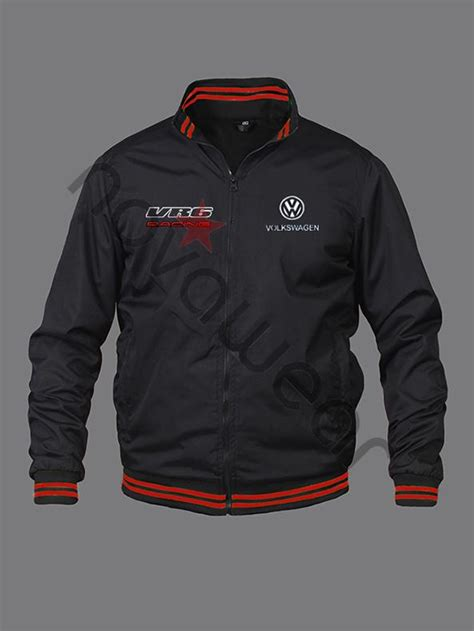 vw vr bomber jacket volkswagen merchandise vr clothing