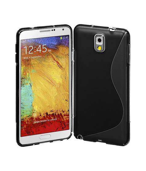 Silicon Premium Samsung Note 3 N9000 rka s line tpu gel silicone rubber soft back cover