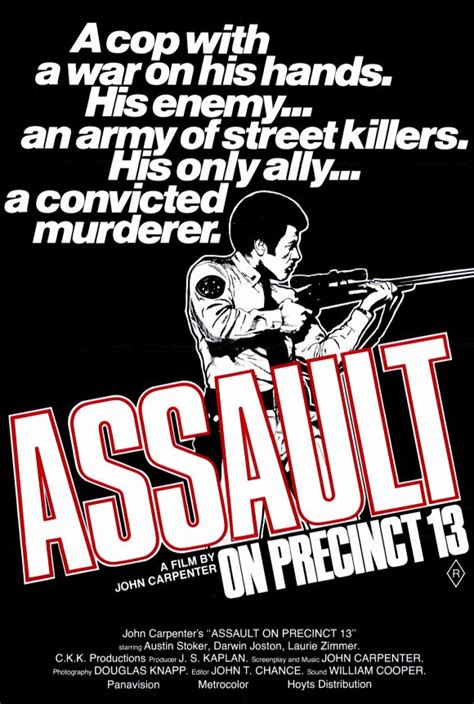 Moviemorlocks Com Siege Mentality Assault On Precinct - john carpenter an appreciation part one the cinematic