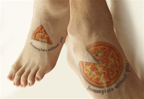 unisex tattoos for couples attention foodies here are 16 cool food tattoos for you