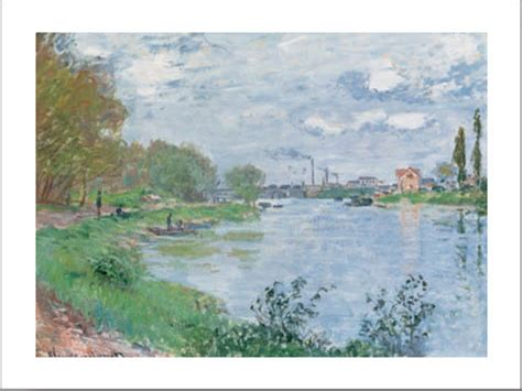 on the bank of the seine poster affisch on the bank of the seine p 229 europosters se
