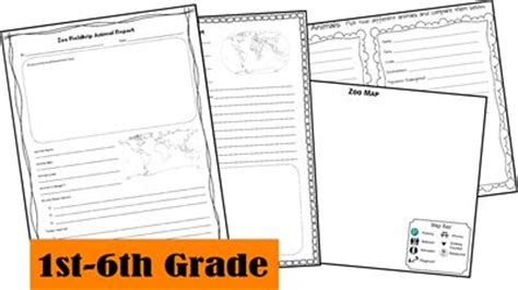 Free Zoo Fieldtip Animal Report Notebooking Pages Unschooling And Homeschooling Ideas Animal Report Template 5th Grade