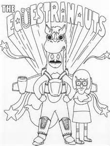 bob s burgers coloring book books tina bobs burgers coloring page coloring pages