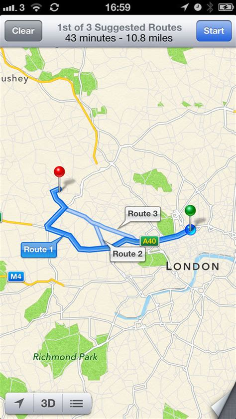 turn by turn maps maps vs apple maps turn by turn sat nav news