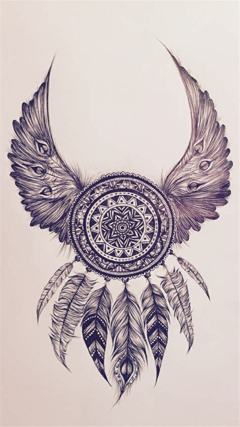 tattoo mandala wings mandala drawing căutare google pinteres