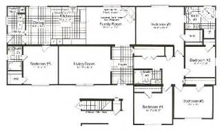 5 bedroom mobile home floor plans winfield modular home plan