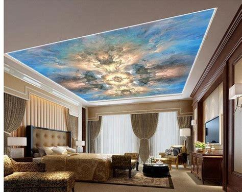 pittura soffitto carta da parati 3d soffitto pittura a olio astratta marmo