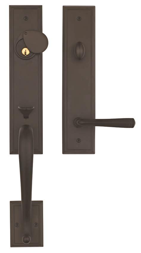 Front Entry Door Handlesets Solid Brass Exterior Door Handlesets