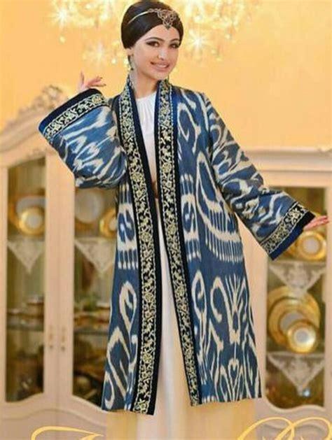 uzbek traditional clothing uzbekistan clothes tyubiteika uzbek ikat silk handmade uzbek traditional clothing