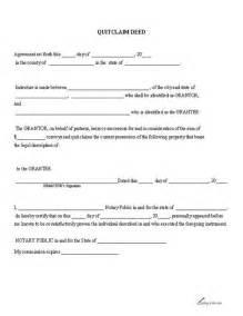 printable quitclaim deed free printable pdf download