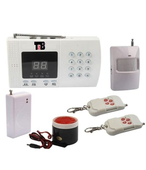 tabu home office security alarm system with wireless