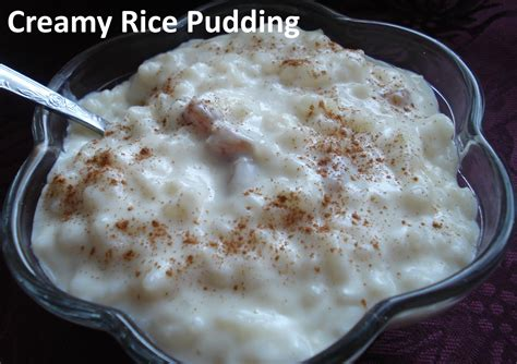 creamy rice pudding grandmother recipes  cooking