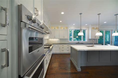 Black Kitchen Island   Contemporary   kitchen   Refined LLC