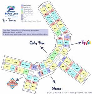 Beach Club Villas Floor Plan Disney Vacation Club Beach Club Villas Floorplan 4th