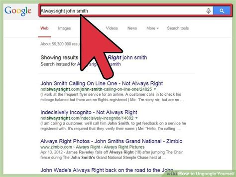 How To Remove Your Name From True Search 2 Easy Ways To Ungoogle Yourself With Pictures Wikihow