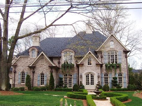 french country exterior stucco french country brick exterior traditional with
