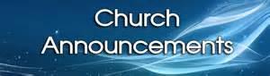 Announcements Peachtree Baptist Church Peachtree