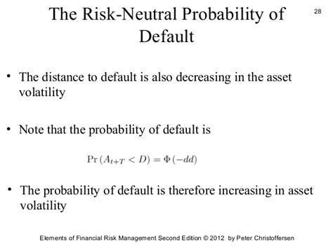 Credit Risk Formula Credit Risk Management 2