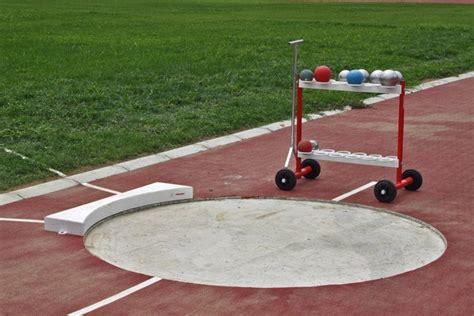 pedana lancio peso cerchio per pedana lancio peso iaaf polanik atletica
