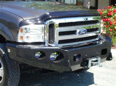 Lcd Cross V10 trail ready 12303b winch front bumper ford excursion 2005 2007