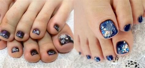 toenail colors in for winter 2016 inspiring winter toe nail art designs ideas trends
