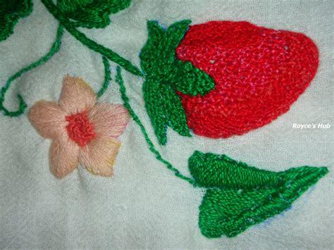 embroidery stitches royce s hub embroidery stitches satin stitch