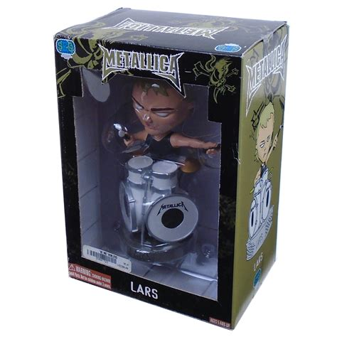 bobblehead box metallica collectible 2003 seg lars ulrich bobble