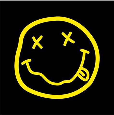 nirvana smiley face tattoo nirvana logo by demyxtimerules on deviantart