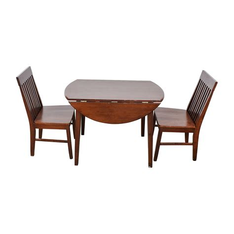 Dining Table Folding Sides Shop Space Saver Chairs