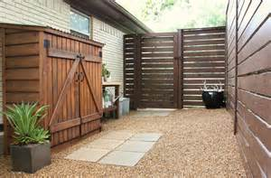 Side Of House Shed Modern Horizontal Fence The Cavender Diary