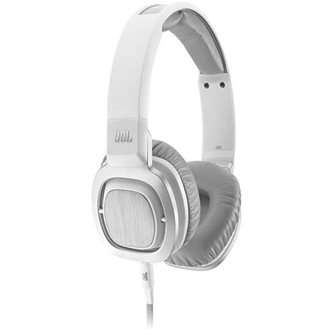 Headphone Jbl J55i Jbl J55i On Ear Headphones White J55i Wht B H Photo