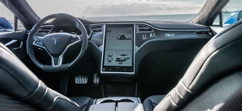 tesla s interior tesla to roar on indian roads by this summer