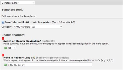 remove header layout typo3 typo3 can t remove link from yaml header in stack overflow