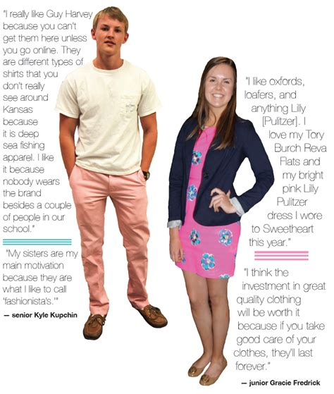 keeping it classy preppy trends currently in style for high students favorite brands