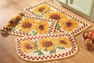 Small Kitchen Rugs Tuscan Sunflower Kitchen Decor Home Design And Decor Reviews