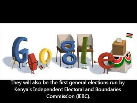 doodle 4 kenya voting elections 2013 doodle