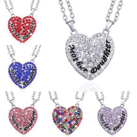 Gelang Ibu Dan Anak kalung pasangan bentuk hati ibu dan anak necklace