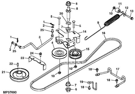 deere rx75 belt routing diagram deere rx75