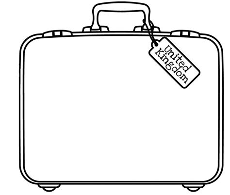 blank suitcase template blank suitcase template 28 images blank luggage tag