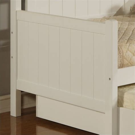 White Wood Daybed With Trundle Hillsdale Staci Wood Daybed In White Finish With Trundle 1525dbt