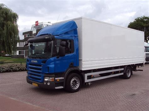 scania p 270 b 4x2 box truck from netherlands for sale at