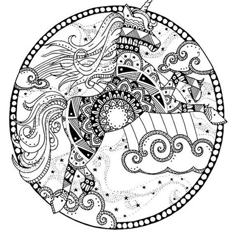 unicorn mandala coloring pages 17 best images about coloring zebra on