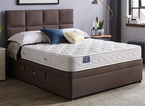 Single Ottoman Beds Uk Therapur Actigel 20 Ottoman Bed Medium Mink 3 0 Single Other Azzub Beds