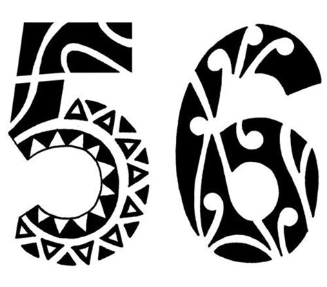 tribal tattoo quiz tribal number number tattoos tattoos number